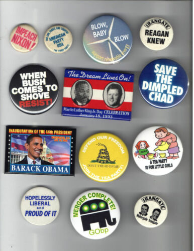 13 old pin 19702010 political most LIBERAL leftwing #C