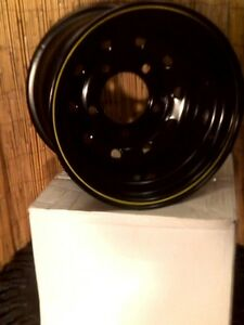 15-x-10-Steel-DEEP-DISH-RIMS-For-LANDROVER-5-165-1-PCD-4x4