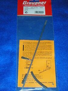 GRAUPNER-3546-paire-de-CLEVISES-RACCORD-gabelanschlusse-RUDER-RUDDER-brass-tube