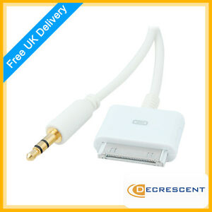 Dock-Connector-to-3-5mm-Jack-Line-Out-Audio-Cable-for-Apple-iPod-iPhone-amp-iPad