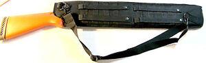 Tactical-Shotgun-Shoulder-Sling-or-Mounting-Hunting-Scabbard-29-034-Swat-Black