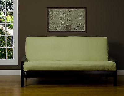 Linen Hillside Light Green Solid SIS Futon Cover Choose Size!!!