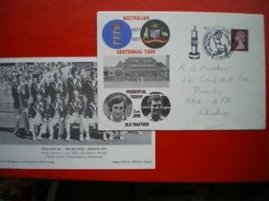 EVENT COVER 1977 AUSTRALIAN CENTENNIAL TOUR PRUDENTAL TROPHT OLD TRAFFORD - <span itemprop=availableAtOrFrom>Tadley, United Kingdom</span> - Full Refund less postage if not 100% satified Most purchases from business sellers are protected by the Consumer Contract Regulations 2013 which give you the right to cancel the purchase w - Tadley, United Kingdom