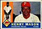 1960 Topps Henry Mason Philadelphia Phillies #331 Baseball Card