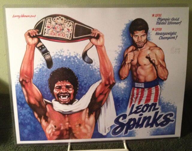 WBA Heavyweight Champions Lineage Boxing Trading Cards Ali Robinson Spinks Ruiz