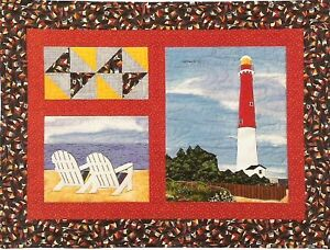 Barnegat lighthouse quilt pattern by country quilter ebay