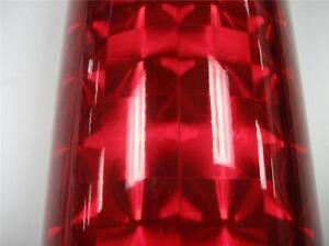 Cherry Red Mirror Lens Sign Plotter Cutter Vinyl Roll Ebay