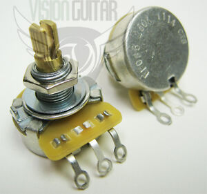 cts 250k linear taper potentiometer volume tone pot new ebay. Black Bedroom Furniture Sets. Home Design Ideas