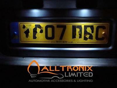 FORD FIESTA MK 6 WHITE 6 LED NUMBER PLATE BULBS