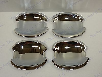 96 97 98 99 Mercedes Benz E W210 Inner Door Chrome Pad Handle Bowl Shell Cover