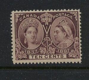 Canada 57 Mint lite hinge og catalog $120.00 x022