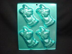 Wilton Scooby Doo Cake Pan Do Dog 4 Mold Tin Cookie Candy