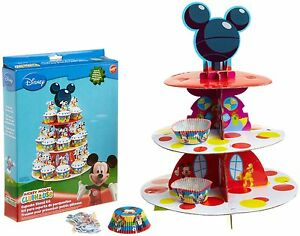 Wilton-Cupcake-Stand-Disney-Mickey-Mouse-Clubhouse-Birthday-Party-Supplies-Cake