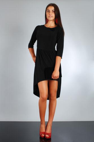 Women/'s Asymmetrical Dress with Rose Crew Neck Size UK 8-12 FA35