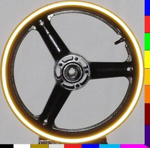 BRIGHT-YELLOW-REFLECTIVE-MOTORCYCLE-RIM-STRIPES-WHEEL-DECALS-TAPE-STICKERS