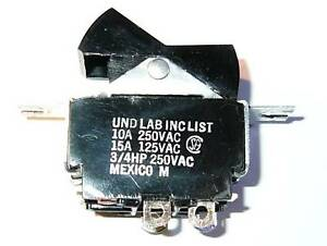 DPST-Rocker-Switch-15-Amps-125VAC-3-4-HP-10-Amps-250-Volts-AC