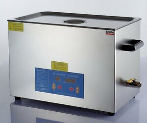 Industrial-780-Watts-5-55-gallons-21-liters-HEATED-ULTRASONIC-CLEANER-HB821