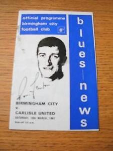 18031967 Birmingham City v Carlisle United  Slight Mark No obvious faults - Birmingham, United Kingdom - 18031967 Birmingham City v Carlisle United  Slight Mark No obvious faults - Birmingham, United Kingdom