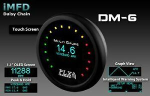 PLX-Devices-DM-6-52mm-Touch-Screen-Multi-Gauge-Display-Gauge-Only
