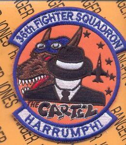 USAF-36th-FIGHTER-SQUADRON-FS-FIEND-The-CARTEL-Harrumph-aviation-patch