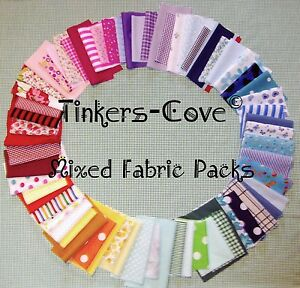 NEW-STOCK-IN-NOW-Value-Bundle-Joblot-Mixed-Craft-Fabric-material-Scraps-offcuts