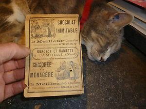 Publicite-Chocolat-Duroyon-et-Ramette-a-Cambrai-Chicore