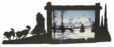 "Dog Sled Picture Frame 3.5""x5"" - 3""x5"" H"