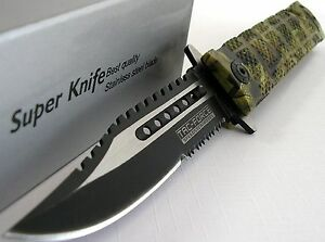 Tac-Force-Bowie-Sawback-Rescue-Flipper-Assisted-Opening-Knife-JUNGLE-CAMO