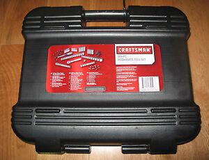 craftsman 104 pc mechanics tool set carry case hand tools set brand new usa. Black Bedroom Furniture Sets. Home Design Ideas