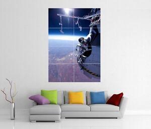 Giant Wall Art felix baumgartner edge of space skydive red bull giant wall art