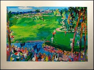 leroy neiman ryder cup valhalla hand signed le serigraph art golf 2007 l k ebay. Black Bedroom Furniture Sets. Home Design Ideas