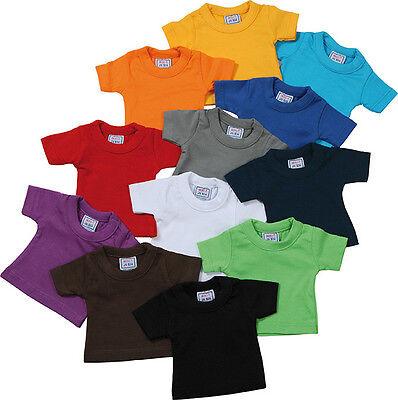 James+Nicholson Mini T-Shirt Rundhals Unifarben 17 x 14 cm  -NEU- Baumwolle