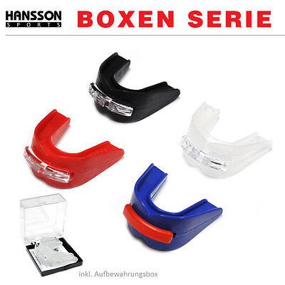 HANSSON.SPORTS Profi Boxen Doppelter Mundschutz Zahnschutz anpassbar