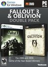 Fallout 3 & Oblivion Double Pack (PC, 2012)