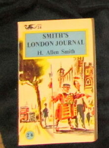 Smith-039-s-London-Journal-by-H-Allen-Smith-1958-P-B