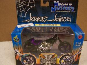 "Jesse James Muscle Machines ""EL DIABLO II"" West Coast Choppers JJ04-18-07 NIB"