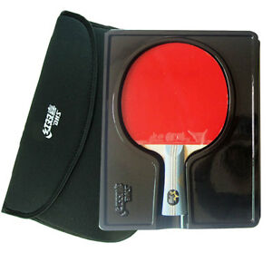 DOUBLE-HAPPINESS-6002-TABLE-TENNIS-RACKET-PING-PONG-PADDLE-6-STARS-LONG-HANDLE