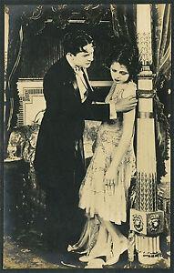 RP-Beautiful-Flapper-Woman-amp-Man-in-Tuxedo-Acting-Scene-P829
