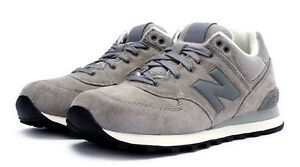 New-Balance-Grey-Luxury-Pack-Running-Shoes-ML574LGT-Mens-US-8