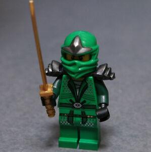 NEW-LEGO-NINJAGO-LLOYD-ZX-GREEN-NINJA-MINIFIG-9450-minifigure-figure-NOT-CUSTOM