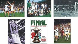 West-Ham-Utd-FA-Cup-Winners-1980-POSTCARD-Set