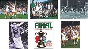 West-Ham-Utd-FA-Cup-Winners-1980-POSTCARD-Set
