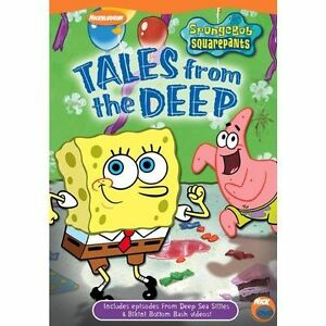 Spongebob-Squarepants-Tales-from-the-Deep-DVD-2003-Checkpoint-PERFECT-COND