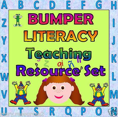 LITERACY  teaching resources phonics Teacher resource KS1 EYFS Childminder on CD