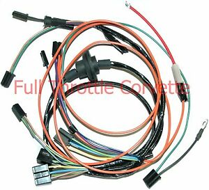 1969 corvette air conditioning ac wiring harness new ebay