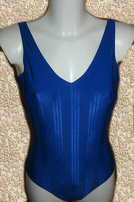 NEU Damen Badeanzug Blau Swimsuit Blue Bademode 36 38 40 Swimwear