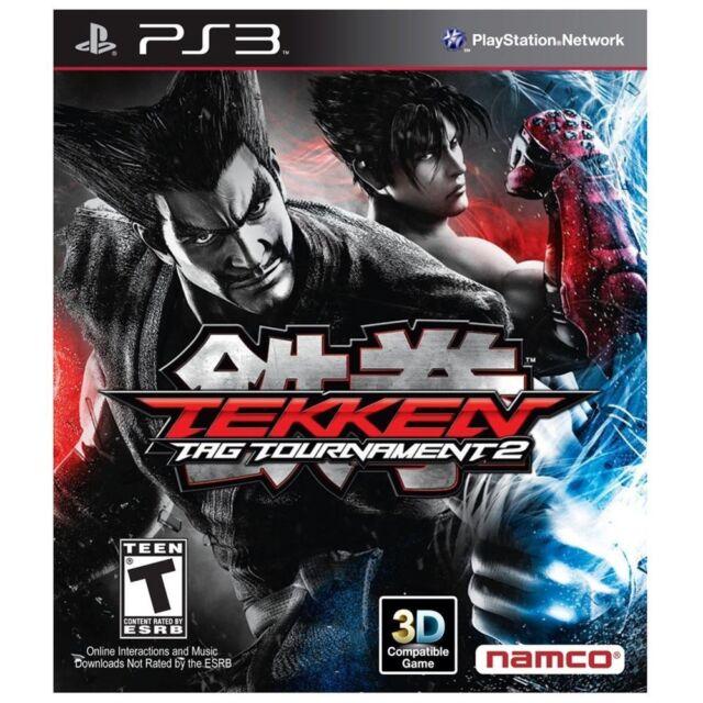NEW Tekken Tag Tournament 2 Sony PS3 NTSC