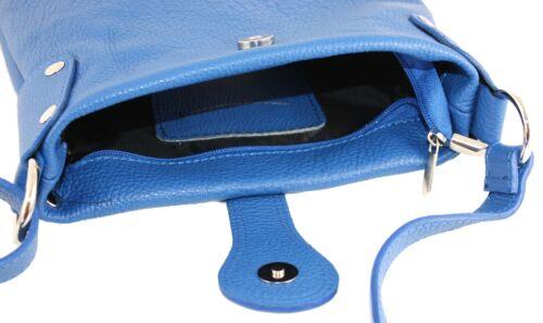 LUXUS echt LEDER Umhängetasche BAG XL Schulter Tasche Ledertasche ITALY H//M-160