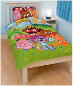 Moshi-Monsters-Single-Twin-Bedding-Duvet-Quilt-Doona-Cover-Pillowcase-Set-New