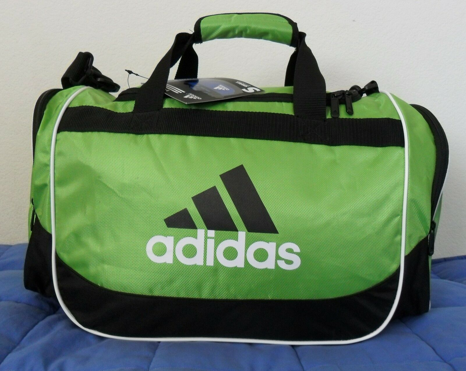 Adidas DEFENDER DUFFEL BAG SmallTraveling Carry-on overnight soccer Gym Tennis
